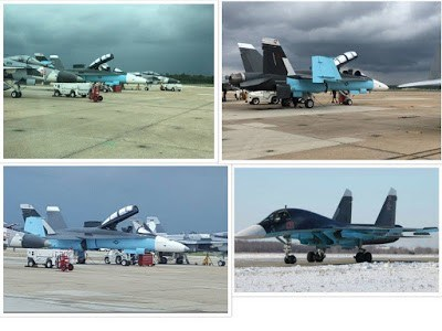 Aviões americanos camuflados de caças russos