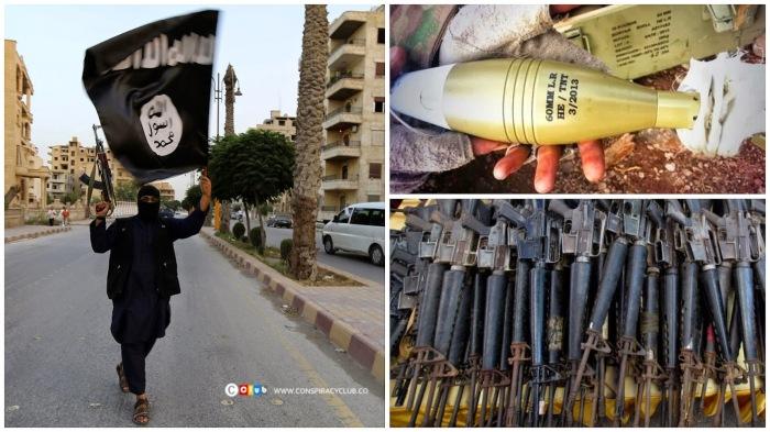 armas israelenses encontradas com o ei