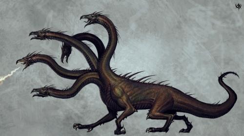 Imagem O livro das Mitologias Hidra de Lerna