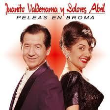Juanito Valderrama y Dolores Abril.