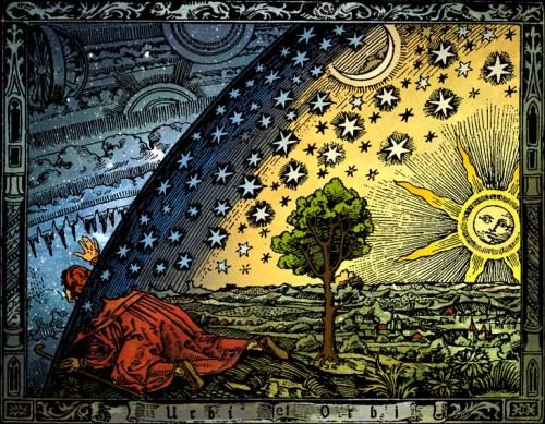Universum Heikenwaelder Hugo, Austria,Camille Flammarion (1842-1925) L'atmosphère météorologie populaire, Hachette, Paris, 1888, p. 163