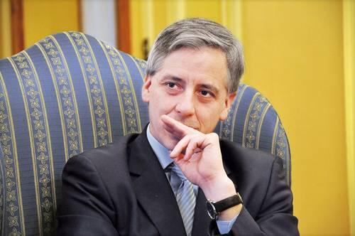 ▲ Álvaro García Linera, vicepresidente en el gobierno de Evo Morales.